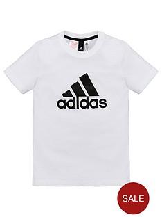 adidas-boys-logo-tee