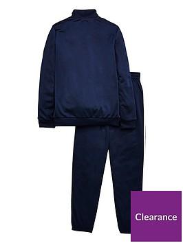e8fdadc4f4eb adidas Boys Tibero Tracksuit - Navy