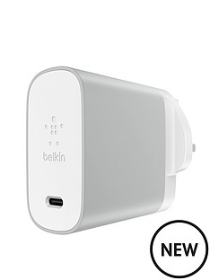 belkin-usb-ctrade-45w-home-charger-usb-c-to-usb-c-cable-silver