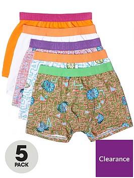 river-island-boys-orange-lime-print-trunks-multipack