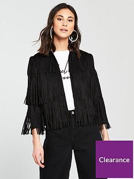 river-island-faux-suede-fringe-jacket-black