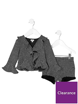 river-island-mini-girls-black-frill-jacquard-jacket-outfit