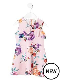 river-island-mini-girls-pink-floral-frill-skater-dress