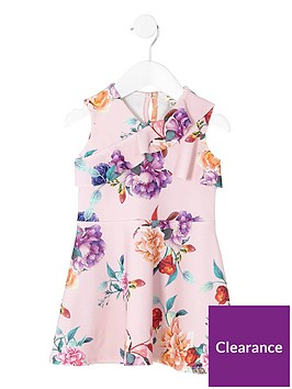 river-island-mini-girls-pink-floral-frill-skater-dress