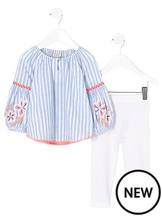 river-island-mini-mini-girls-stripe-embroidered-top-outfit