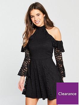 v-by-very-petite-cold-shoulder-lace-skater-dress-blacknbsp