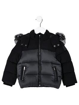 river-island-mini-boys-black-faux-fur-hooded-padded-jacket