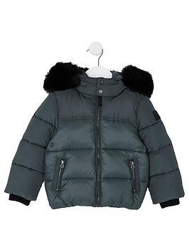 river-island-mini-boys-green-faux-fur-hood-padded-jacket