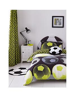 Catherine Lansfield Catherine Lansfield Neon Football Duvet Cover Set -  ... Picture