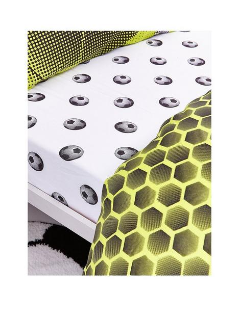 catherine-lansfield-neon-football-fitted-sheet