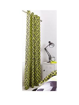 Catherine Lansfield Catherine Lansfield Neon Football Eyelet Curtains In  ... Picture