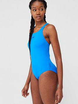 Speedo Speedo Endurance+ Medalist Swimsuit - Blue Picture