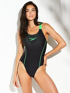 speedo-gala-logo-medalist-swimsuit-blackgreennbsp
