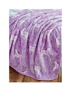 catherine-lansfield-folk-unicorn-throw