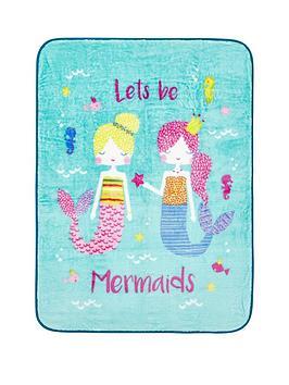 catherine-lansfield-mermaidnbspthrow