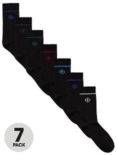 v-by-very-days-of-the-week-slogan-7pk-socks