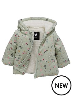 mini-v-by-very-baby-girls-cosy-faux-fur-lined-jersey-jacket-pink