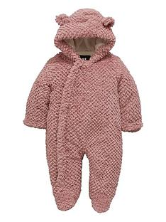 mini-v-by-very-baby-girls-textured-faux-fur-cuddle-suit-with-integral-mitts-pink