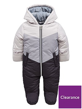 mini-v-by-very-baby-colour-block-snowsuit-with-integral-mitts