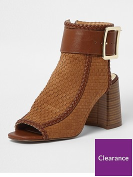 river-island-weave-buckle-ankle-shoe-boot-nbsp-tan