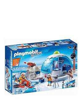 PLAYMOBIL Playmobil 9055 Action Arctic Expedition Headquarters Picture