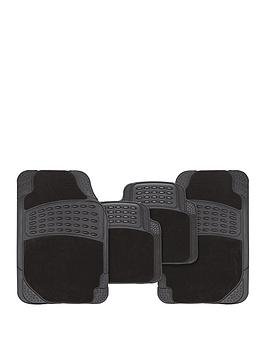 streetwize-accessories-black-stellar-combination-car-mat-set