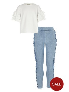 river-island-girls-frill-sleeve-top-outfit