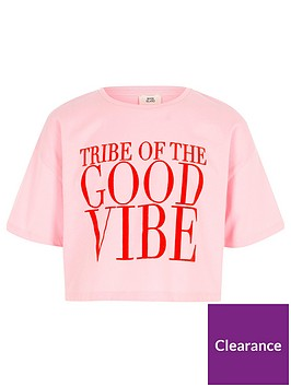 river-island-girls-pink-lsquogood-vibersquo-print-cropped-t-shirt