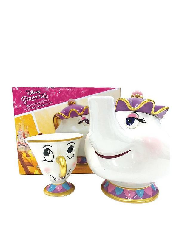 Mrs Potts Teapot And Chip Mug Set