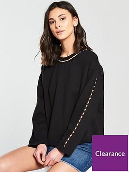 river-island-pearl-sweater-black