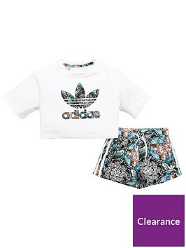 adidas-originals-younger-girls-zoo-set-whitenbsp