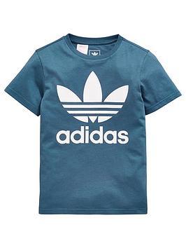 adidas-originals-boys-trefoil-tee-bluenbsp
