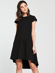 river-island-river-island-dropped-waist-swing-dress--black