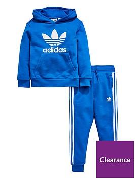 adidas-originals-younger-boys-trefoil-hoodie-suit-bluebirdnbsp