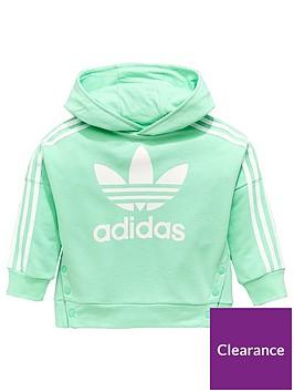 adidas-originals-younger-girls-snap-hoodienbsp--mintnbsp