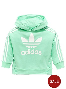 adidas-originals-younger-girls-snap-hoodienbsp--mintnbsp