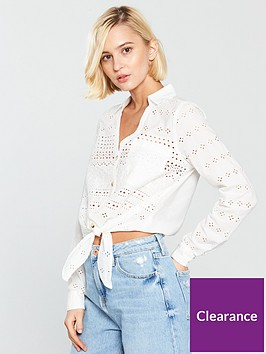 river-island-broderie-crop-shirt-white