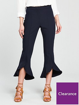 river-island-river-island-crop-frill-hem-trousers--navy