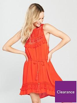 river-island-mesh-high-apex-beach-dress-red