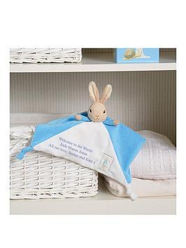 Peter Rabbit Peter Rabbit Personalised Peter Rabbit Comforter Picture