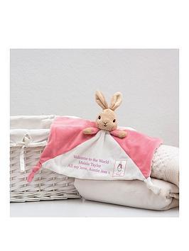 Peter Rabbit Peter Rabbit Personalised Flopsy Comforter Picture