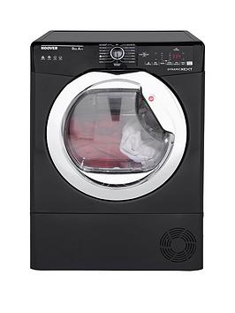 hoover-dynamic-next-dxh9a2tceb-9kg-load-aquavision-heat-pump-tumble-dryer-with-one-touchnbsp--blackchrome