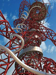 virgin-experience-days-the-slide-at-the-arcelormittal-orbit-with-hot-drink-and-cake-for-two