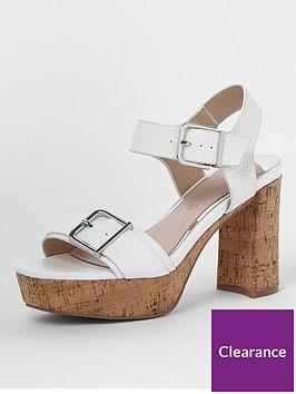 river-island-cork-platform-sandal--white