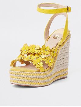 river-island-flower-sandals--yellow