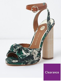 river-island-river-island-circle-bow-heeled-sandals-green