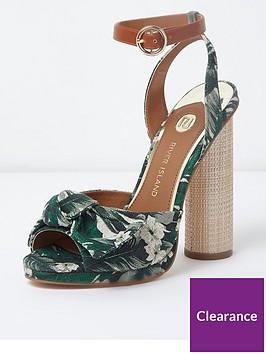 river-island-river-island-circle-bow-heeled-sandals-green
