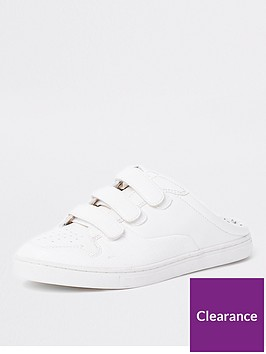 river-island-backless-trainer--white