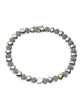 keepsafe-9-carat-gold-and-silver-diamond-set-bracelet