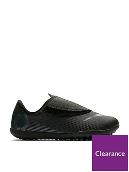 innovative design 2b626 ca106 Nike Junior Mercurial Vapor 12 (v) Club Astro Turf Football Boots - Black